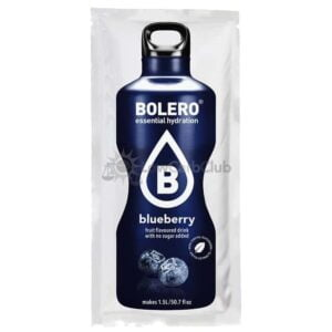 Bolero Blueberry suikervrije limonade Zakje Lowcarbclub