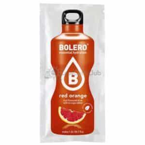 Bolero Red Orange suikervrije limonade Zakje Lowcarbclub