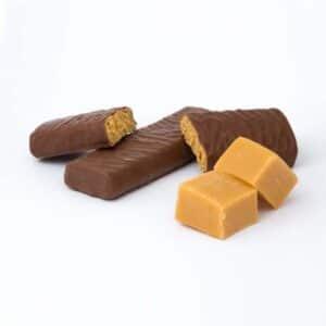 Delinutri Koolhydraatarme Reep Toffee Chocolade