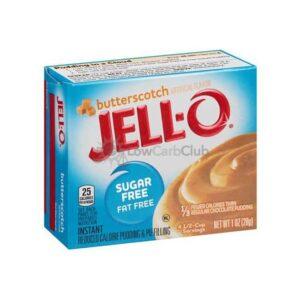 Jello Pudding Suikervrij Butterscotch