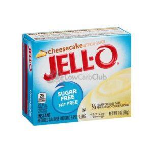 Jello Pudding Suikervrij Cheesecake