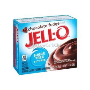 Jello Pudding Suikervrij Chocolate Fudge
