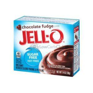 Jello Pudding Suikervrij Chocolate Fudge2
