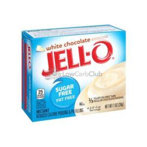 Jello Pudding Suikervrij White Chocolate
