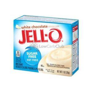 Jello Pudding Suikervrij White Chocolate2