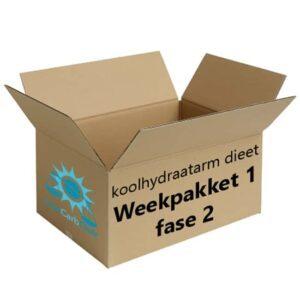 Koolhydraatarm Weekpakket 1 Fase 2