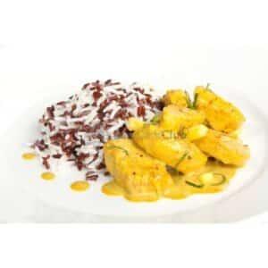 Koolhydraatarmere Maaltijd Kip Curry Kokos Nutrisaveurs2
