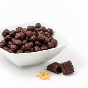 Delinutri Koolhydraatarme Soja Balletjes Pure Chocolade