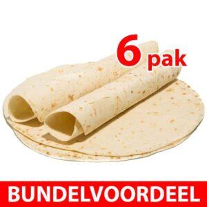 Delinutri Koolhydraatarme Tortilla Wraps Bundel