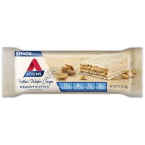Atkins Usa Snack Wafer Peanut Butter Wafel