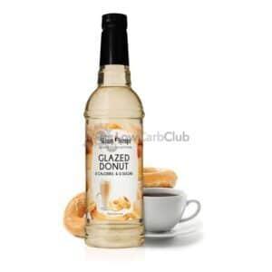 Skinny Syrups Glazed Donut