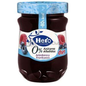 Hero Diet Bosvruchten Frambozen Jam