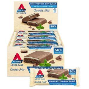 Atkins Repen Chocolate Mint Doos