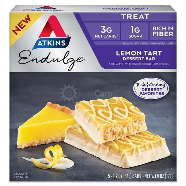 Atkins Usa Endulge Dessert Lemon Tart Doos