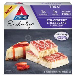 Atkins Usa Endulge Dessert Strawberry Cheese Cake Doos