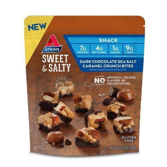Atkins Usa Snack Clustersdkchcseasaltcarcrunch Zakje