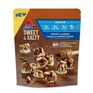 Atkins Usa Snack Clustershoneyalmondvanillacrunch Zakje