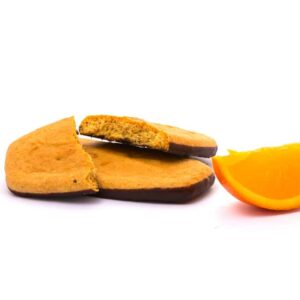 Delinutri Koolhydraatarme Koekjes Sinaasappel Chocoladelaag