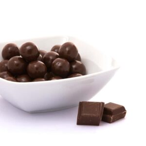 Delinutri Koolhydraatarme Crunchy Balletjes Melkchocolade