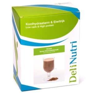 Delinutri Koolhydraatarme Ierse Chocolademelk Doosje