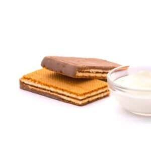 Delinutri Koolhydraatarme Pennywafel Yoghurt