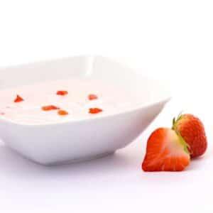 Delinutri Koolhydraatarme Pudding Yoghurt Aardbei
