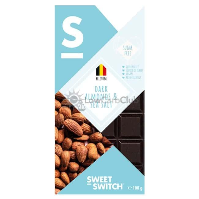 Sweet Switch Dark Chocolate Almonds Sea Salt