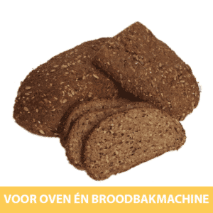 Delinutri Koolhydraatarm Brood 1000g Broodbakmachine