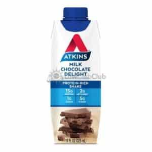 Atkins Rtd Milk Chocolate Delight Shake