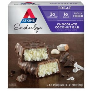 Atkins Usa Endulge Chocolate Coconut Doos