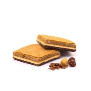 Delinutri Koolhydraatarme Wafels Chocolate Square