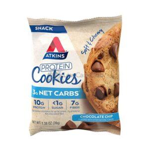Atkins Usa Protein Cookies Chocolate Chip2