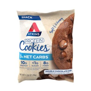Atkins Usa Protein Cookies Double Chocolate Chip2