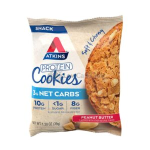 Atkins Usa Protein Cookies Peanut Butter2